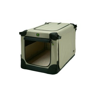 Faltbare Hundebox Maelson Beige 52