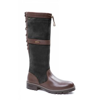 Glanmire Damen Stiefel Black/Brown 35