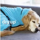 Hundemantel fit4dogs dryup cape Cyan L  65cm