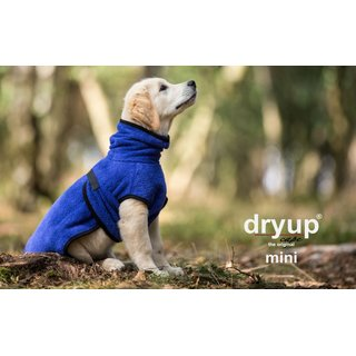 Hundemantel fit4dogs dryup cape Blueberry Mini Cape 40cm