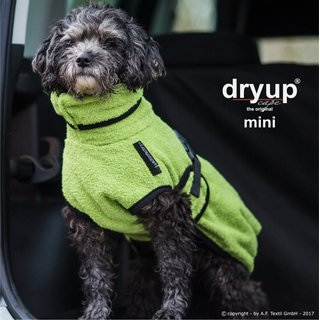Hundemantel fit4dogs dryup cape Kiwi Mini Cape 40cm