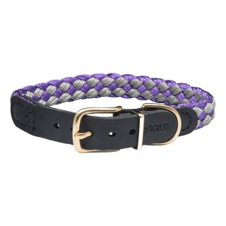 Dogius Newton Paracord Halsband Violett M