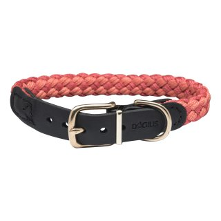 Dogius Newton Paracord Halsband Rot XL
