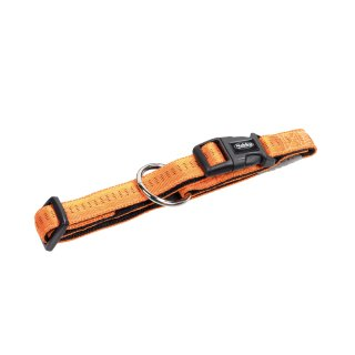 Nobby Halsband Soft Grip Orange 30-45cm x 20mm